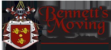Bennett's Moving moving truck